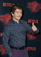 Gaten Matarazzo at the premiere for Netflix's &quot;Stranger Things 2&quot; at the Westwood Village Theatre. Los Angeles, USA 26 October  2017<br /> Picture: Paul Smith/Featureflash/SilverHub 0208 004 5359 sales@silverhubmedia.com