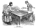 """ Ping Pong"" Or, ""A game that he does understand."""