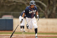 SAN ANTONIO, TX - MARCH 7, 2015: The University of California Irvine Anteaters defeat the University of Texas at San Antonio Roadrunners 10-5 and 9-3 in a double header at Roadrunner Field. (Photo by Jeff Huehn)