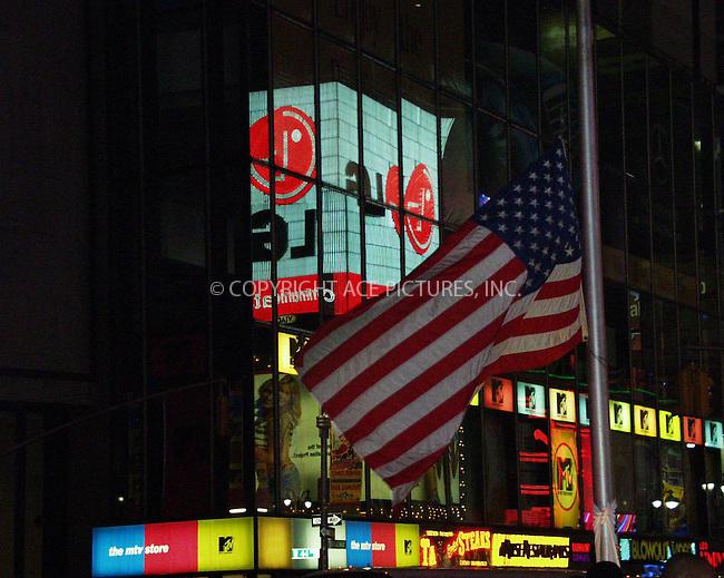 MTV Studios in Times Square, New York. September 14, 2001. Please byline: Alecsey Boldeskul/NY Photo Press.   ..*PAY-PER-USE*      ....NY Photo Press:  ..phone (646) 267-6913;   ..e-mail: info@nyphotopress.com