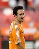 Houston Dynamo defender Ryan Cochrane. The Houston Dynamo tied the Columbus Crew 1-1 in a regular season MLS match at Robertson Stadium in Houston, TX on August 25, 2007.