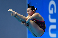 Sayaka Mikami JPN Japan <br /> Gwangju South Korea 18/07/2019<br /> Women's 3m Springboard  Preliminary <br /> 18th FINA World Aquatics Championships<br /> Nambu University Aquatics Center  <br /> Photo © Andrea Staccioli / Deepbluemedia / Insidefoto