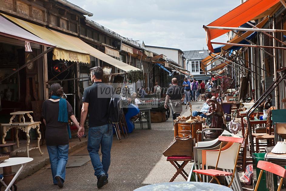 Europe/France/Ile de France/93/Seine-Saint-Denis/Saint-Ouen: Le marché aux Puces- le Marché Paul Bert