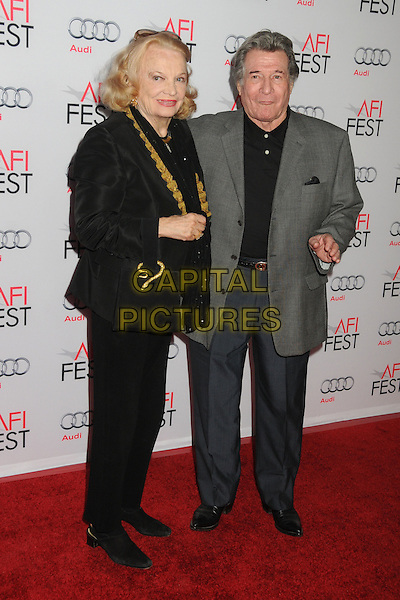 5 November 2015 - Hollywood, California - Gena Rowlands. AFI FEST 2015 - &quot;By The Sea&quot; Premiere held at the TCL Chinese Theatre.  <br /> CAP/ADM/BP<br /> &copy;BP/ADM/Capital Pictures
