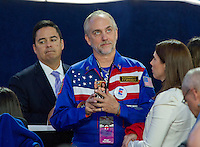 Richard Garriott, famed video game developer, attends the Hillary Clinton Election Night Event at the Jacob K. Javits Convention Center in New York, New York on Tuesday, November 8, 2016.<br /> Credit: Ron Sachs / CNP / MediaPunch