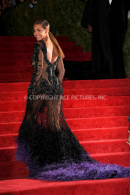 "WWW.ACEPIXS.COM . . . . . .May 7, 2012...New York City....Beyonce attending the ""Schiaparelli and Prada: Impossible Conversations"" Costume Institute Gala at The Metropolitan Museum of Art in New York City on May 7, 2012  in New York City ....Please byline: KRISTIN CALLAHAN - ACEPIXS.COM.. . . . . . ..Ace Pictures, Inc: ..tel: (212) 243 8787 or (646) 769 0430..e-mail: info@acepixs.com..web: http://www.acepixs.com ."