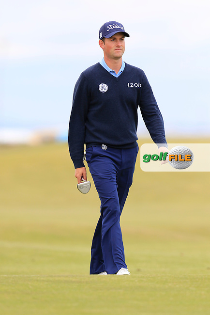 Webb SIMPSON (USA) during Sunday's Round 3 of the 144th Open Championship, St Andrews Old Course, St Andrews, Fife, Scotland. 19/07/2015.<br /> Picture Eoin Clarke, www.golffile.ie