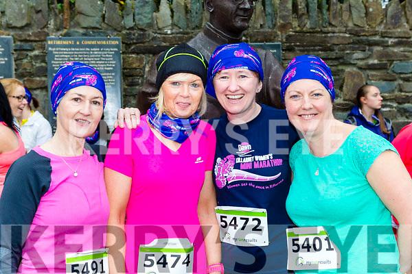 Teresa Keogh, Jackie Keogh, Marie Histon and Phylis Barry at the Killarney Women's mini-marathon on Saturday