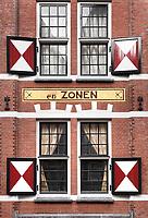 Nederland Amsterdam - 2018. Pand in de binnenstad. H.Vettewinkel en Zonen. Foto Berlinda van Dam / Hollandse Hoogte