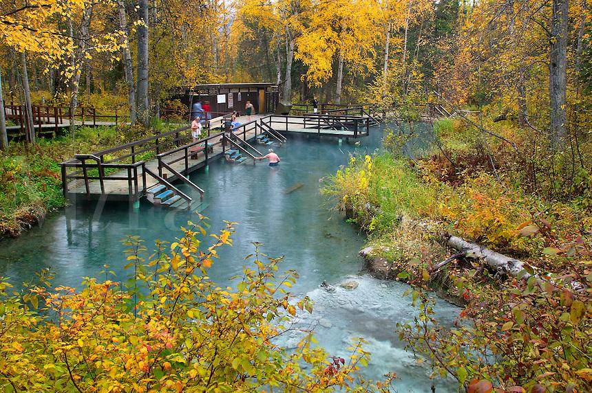 Laird River Hotsprings Provincial Park, British Columbia, Canada.