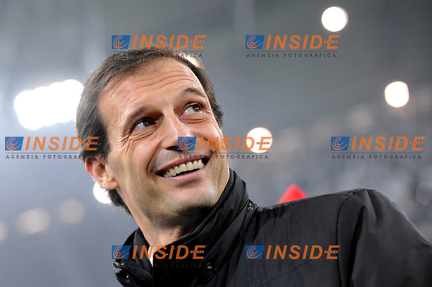 Massimiliano Allegri ( Milan )..Torino 09/01/2013 Juventus Stadium..Trofeo Coppa Italia Tim Cup 2011/2012 ..Football Calcio Juventus Milan..Foto Insidefoto Giorgio Perottino