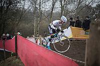Eli Yserbyt (BEL/U23/Marlux-Napoleon Games)<br /> <br /> 2016 CX UCI World Cup Zeven (DEU)