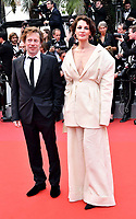 www.acepixs.com<br /> <br /> May 18 2017, Cannes<br /> <br /> Mathieu Amalric and Jeanne Balibar arriving at a screening of 'Loveless'  during the 70th annual Cannes Film Festival at Palais des Festivals on May 18, 2017 in Cannes, France<br /> <br /> By Line: Famous/ACE Pictures<br /> <br /> <br /> ACE Pictures Inc<br /> Tel: 6467670430<br /> Email: info@acepixs.com<br /> www.acepixs.com