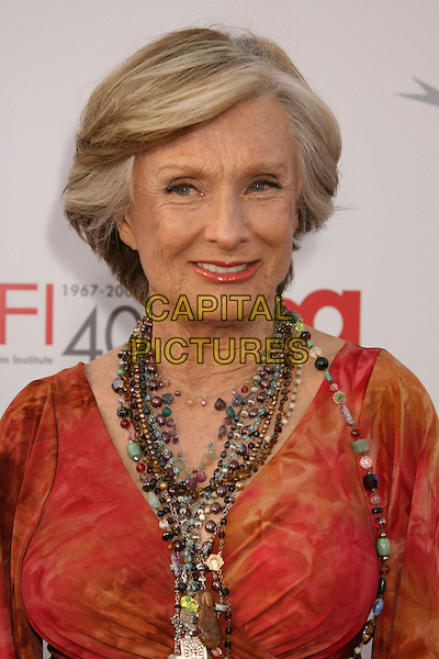 CLORIS LEACHMAN .35th AFI Life Achievement Award Honoring Al Pacino held at the Kodak Theatre, Hollywood, California, USA..June 7th, 2007.headshot portrait beads necklaces .CAP/ADM/RE.©Russ Elliot/AdMedia/Capital Pictures