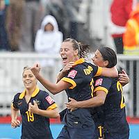 Australia vs Brazil, June 21, 2015