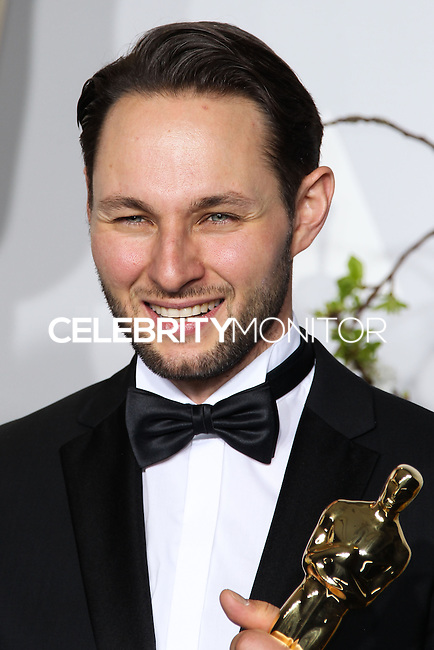 HOLLYWOOD, LOS ANGELES, CA, USA - MARCH 02: Alexandre Espigares at the 86th Annual Academy Awards - Press Room held at Dolby Theatre on March 2, 2014 in Hollywood, Los Angeles, California, United States. (Photo by Xavier Collin/Celebrity Monitor)