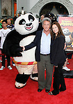 HOLLYWOOD, CA. - November 09: Actor Dustin Hoffman and wife Lisa Gottsegen arrive at the Kung Fu Panda DVD Release at Grauman's Chinese Theatre on November 9, 2008 in Hollywood, California.