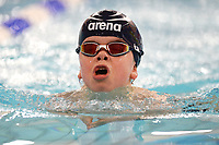 Picture by Richard Blaxall/SWpix.com - 14/04/2018 - Swimming - EFDS National Junior Para Swimming Champs - The Quays, Southampton, England - Bruce Dee of Northampton during the Men's Open 100m Breaststroke