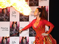 OCT 17 Katie Price Playing with Fire Book Launch