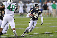 14 November 2009:  FIU running back Kendall Berry (19) carries the ball in the second half as the FIU Golden Panthers defeated the North Texas Mean Green, 35-28, at FIU Stadium in Miami, Florida.