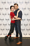 Irina Dvorovenko and Tony Yazbeck attends the press photocall for 'The Beast In The Jungle' at the New 42nd Street Studios on April 3, 2018 in New York City.