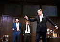 Mojo by Jez Butterworth, directed by Ian Rickson. With Daniel Mays as Potts, Rupert Grint as Sweets , Brendan Coyle as Mickey. Opens at The Harold Pinter Theatre  on 13/11/13  pic Geraint Lewis