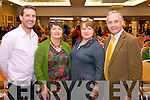 Jim Breen Deirdre Sheehy Mary McEvoy and Dan O'Connor, pictured at the Mental Wellness event held in the Malton hotel, Killarney, on Sunday.