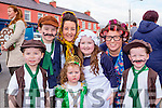 Eoin collins, David O'Leary, Melissa O'Leary, Maeve O'Leary, Kaylee O'Leary, triona Collins and Alan o'Leary enjoying the Rathmore St Patricks parade on Sunday