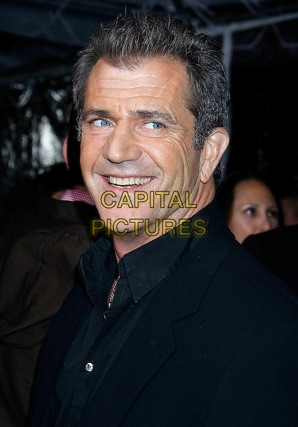 "MEL GIBSON.he Los Angeles premiere of ""Edge of Darkness"" at Grauman's Chinese Theatre in Hollywood, California, USA. .January 26th, 2010 .headshot portrait black .CAP/ADM/MJ.©Michael Jade/AdMedia/Capital Pictures."