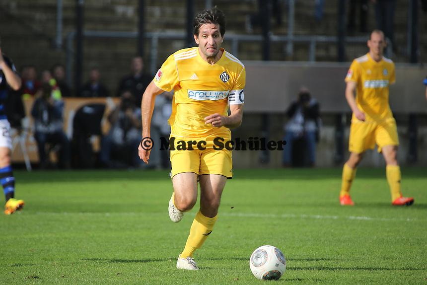 Leandro Grech (Aalen) - FSV Frankfurt vs. VfR Aalen, Frankfurter Volksbank Stadion