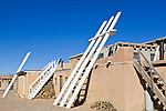USA, NM, Acoma Pueblo, Sky City Village