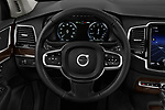 Car pictures of steering wheel view of a 2019 Volvo XC90 T5 Momentum AWD 5 Door SUV