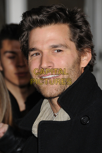 "Johnny Whitworth.""The Last Stand"" World Premiere held at Grauman's Chinese Theatre, Hollywood, California, USA..January 14th, 2013.headshot portrait black scarf  grey gray stubble facial hair .CAP/ADM/BP.©Byron Purvis/AdMedia/Capital Pictures."