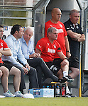 Craig Mather and Walter Smith fly into Germany to watch Rangers playing during their Summer training camp