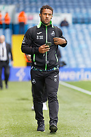 LEEDS, ENGLAND - AUGUST 31: Wayne Routledge of Swansea City arrives prior to the game during the Sky Bet Championship match between Leeds United and Swansea City at Elland Road on August 31, 2019 in Leeds, England. (Photo by Athena Pictures/Getty Images)