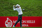 Jin Young Ko of South Korea tees off at the 10th hole duringRound 1 of the World Ladies Championship 2016 on 10 March 2016 at Mission Hills Olazabal Golf Course in Dongguan, China. Photo by Victor Fraile / Power Sport Images