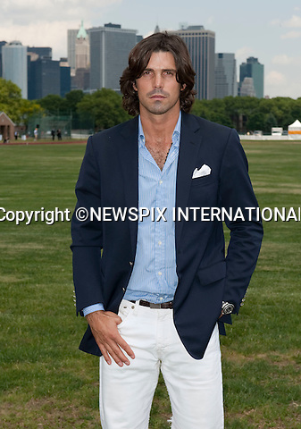 "Nacho Figueras.Prince Harry.Attends the second annual Veuve Clicquot Manhattan Polo Classic on Governors Island.The Prince plays for the Sentebale team against the Black Watch team in a 4-chukka exhibition match_ Governors Island, New York, USA_30/05/2009.Mandatory Photo Credit: ©Dias/Newspix International..**ALL FEES PAYABLE TO: ""NEWSPIX INTERNATIONAL""**..PHOTO CREDIT MANDATORY!!: NEWSPIX INTERNATIONAL(Failure to credit will incur a surcharge of 100% of reproduction fees)..IMMEDIATE CONFIRMATION OF USAGE REQUIRED:.Newspix International, 31 Chinnery Hill, Bishop's Stortford, ENGLAND CM23 3PS.Tel:+441279 324672  ; Fax: +441279656877.Mobile:  0777568 1153.e-mail: info@newspixinternational.co.uk"