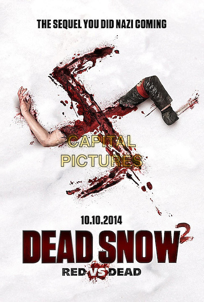POSTER ART<br /> in Dead Snow 2: Red vs. Dead (2014)<br /> *Filmstill - Editorial Use Only*<br /> CAP/NFS<br /> Image supplied by Capital Pictures