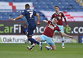 02/05/16 Sky Bet League Championship  Burnley v QPR<br /> Michael Keane tackles Matt Phillips