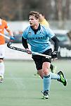 WASSENAAR - Hoofdklasse hockey heren, HGC-Bloemendaal (0-5).  Willem Rath (HGC)    COPYRIGHT KOEN SUYK