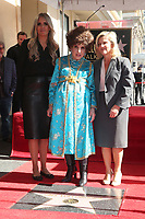 HOLLYWOOD, CA - February 1: Gina Lollobrigida, Tiziana Rocca, at Gina Lollobrigida Is Honored With A Star On The Hollywood Walk of Fame at On The Hollywood Walk of Fame in Hollywood, California on February 1, 2018. <br /> CAP/MPI/FS<br /> &copy;FS/MPI/Capital Pictures