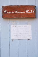 Domaine Lacroix-Vanel. Caux. Pezenas region. Languedoc. France. Europe.