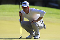Brandon Stone (RSA) on the 5th green during Saturday's Round 3 of the 2018 Turkish Airlines Open hosted by Regnum Carya Golf &amp; Spa Resort, Antalya, Turkey. 3rd November 2018.<br /> Picture: Eoin Clarke | Golffile<br /> <br /> <br /> All photos usage must carry mandatory copyright credit (&copy; Golffile | Eoin Clarke)