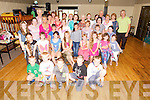 Austin Stacks GAA club hosted a Gathering of Chernobyl Children and their host families on Tuesday