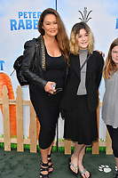 Tia Carrere &amp; Bianca Wakelin at the world premiere for &quot;Peter Rabbit&quot; at The Grove, Los Angeles, USA 03 Feb. 2018<br /> Picture: Paul Smith/Featureflash/SilverHub 0208 004 5359 sales@silverhubmedia.com