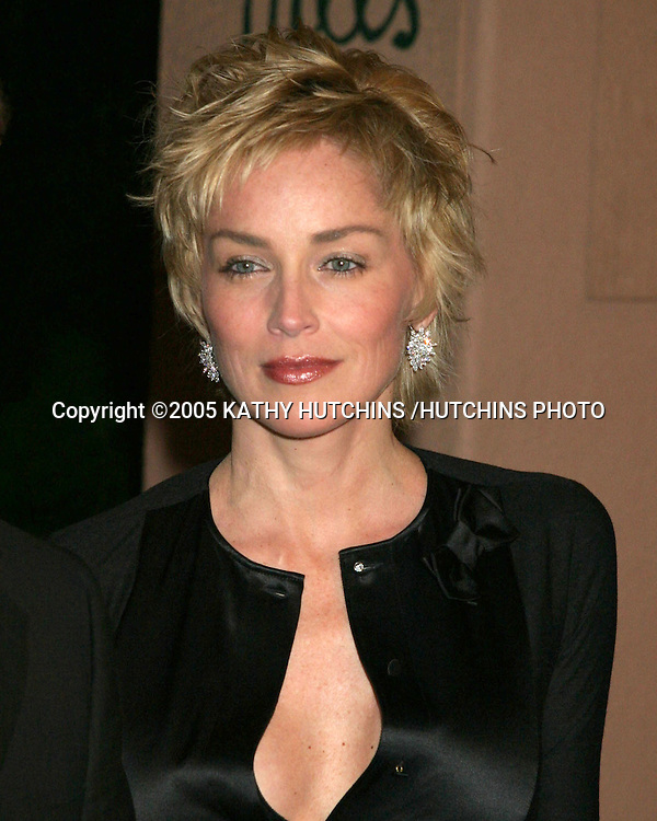 SHARON STONE.CLIVE DAVIS ANNUAL PRE-GRAMMY PARTY.BEVERLY HILLS HOTEL.BEVERLY HILLS, CA.FEBRUARY 12 , 2005.©2005 KATHY HUTCHINS /HUTCHINS PHOTO.