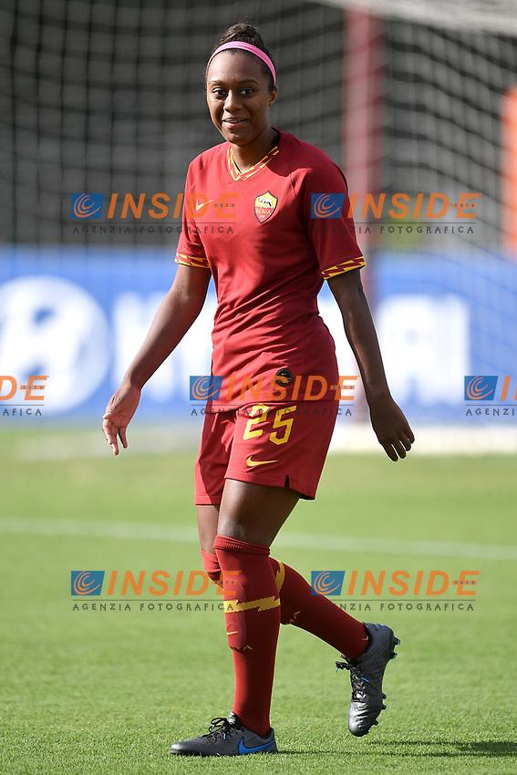 Allyson Swaby of AS Roma  <br /> Roma 8/9/2019 Stadio Tre Fontane <br /> Luisa Petrucci Trophy 2019<br /> AS Roma - Paris Saint Germain<br /> Photo Andrea Staccioli / Insidefoto