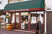 wine shop restaurant caves madeleine rue fg madeleine beaune cote de beaune burgundy france