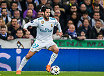 Isco Alarcon of Real Madrid in action during the UEFA Champions League 2017-18 Round of 16 (1st leg) match between Real Madrid vs Paris Saint Germain at Estadio Santiago Bernabeu on February 14 2018 in Madrid, Spain. Photo by Diego Souto / Power Sport Images