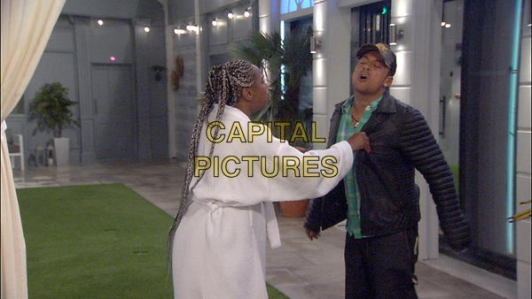 Celebrity Big Brother 2017<br /> Sandi Bogle and Paul Danan.<br /> *Editorial Use Only*<br /> CAP/KFS<br /> Image supplied by Capital Pictures